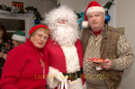 Pat, Santa, & Bob