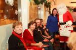 Carol, Donna, Nick, Sally Ann, Darlene, & Santa